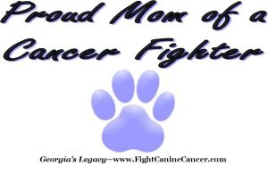 Canine Cancer Apparel for Dog Moms