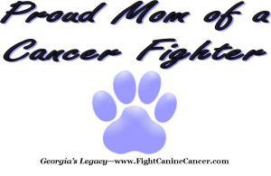 Canine Cancer Apparel for Dog Moms