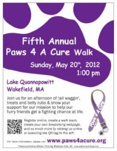 Paws 4 A Cure Walk 12012
